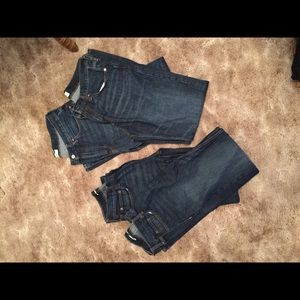 Old navy and Gap Jeans 32x36